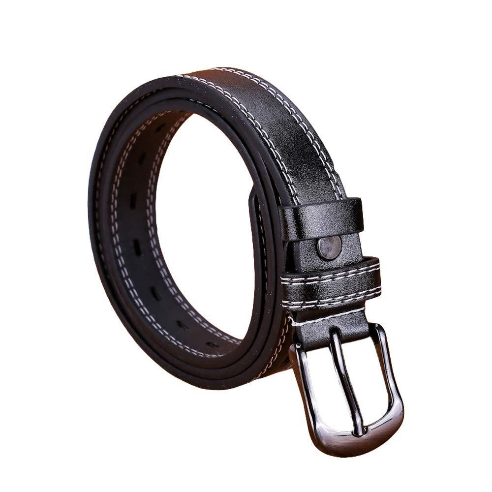 yoyorule Belts Fashion Women Lady Girls Skinny Waist Belt Thin Leather Buckle Narrow Waistband