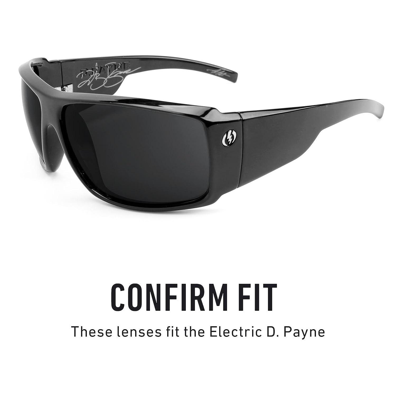 34db996684 Amazon.com  Revant Polarized Replacement Lenses for Electric D. Payne Elite  Black Chrome MirrorShield  Sports   Outdoors