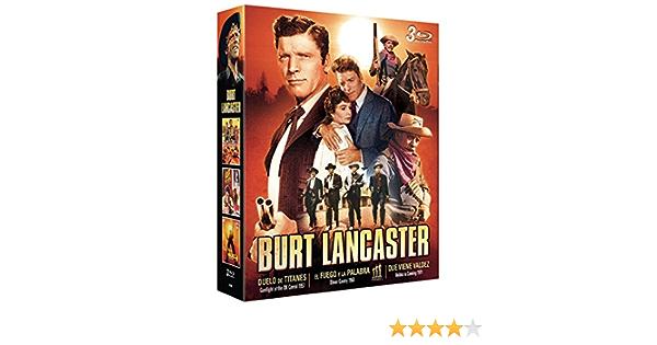 Burt Lancaster 3 BDs Que Viene Valdez + El Fuego y la Palabra ...