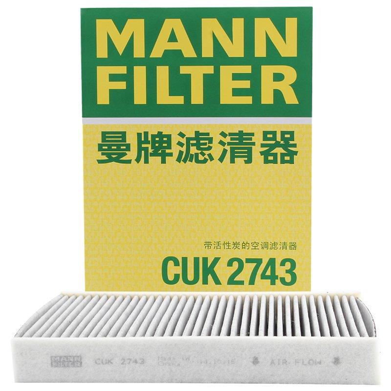 Mann Filter CUK2743 Filter, Innenraumluft adsotop MANN & HUMMEL GMBH CUK 2743