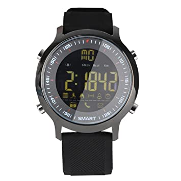 KESOTO Relojes Inteligentes Ex18 Reloj Despertador A Prueba De Agua Bluetooth Mucho Tiempo De Espera: Amazon.es: Electrónica