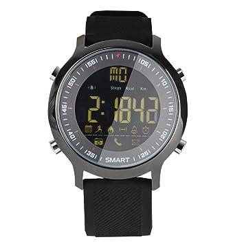 KESOTO Relojes Inteligentes Ex18 Reloj Despertador A Prueba De Agua Bluetooth Mucho Tiempo De Espera -