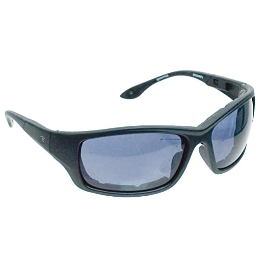 Eyesential Dry Eye Sunglasses - Large Square Style- Black-Smoke