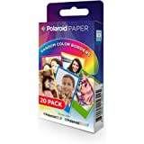 "Polaroid - Carta x320rb 20f.2x3""snap cornice color."