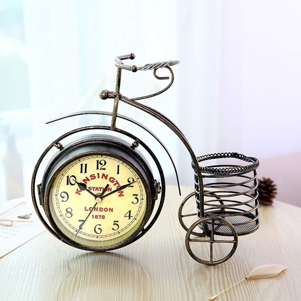 LPC Bicicleta De Tres Ruedas Relojes De Hierro Forjado Vintage ...