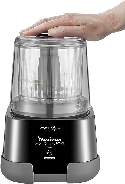 Moulinex 1.2.3 Ultimate Picadora Eléctrica De Alimentos Y Batidora ...