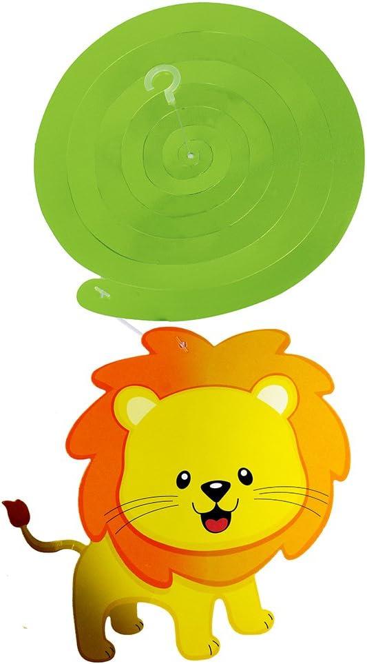 ghdonat.com Supla 30 pcs Jungle Animals Hanging Swirl Decorations ...