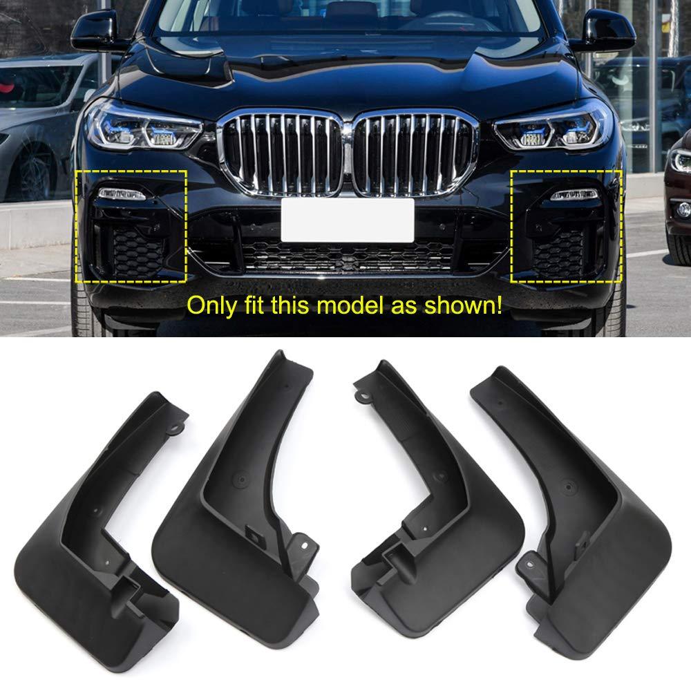 M50i 2019 2020 YUZHONGTIAN Car Mud Guards Splash Flaps Fender Guard for BMW X5 G05