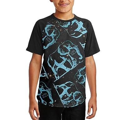 1a052718e31cd1 Amazon.com  NVJ SHIRT Ivory Ella Gift Lover Teen Boy 3D Print Tees Baseball  Short Sleeve T-Shirts  Clothing