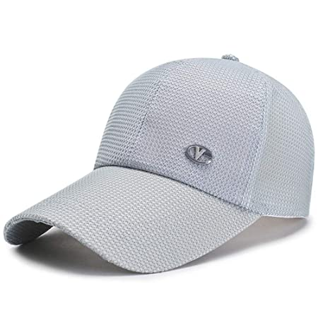 woyaochudan Gorra Neta Gorra de béisbol Masculina Sombrero de ...