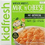 Kidfresh Entree Mac and Cheese Wagon Wheels, 6.3 oz ( 8 pack)