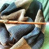 Handmade Knit Ravenclaw Movie Color Hogwarts Scarf