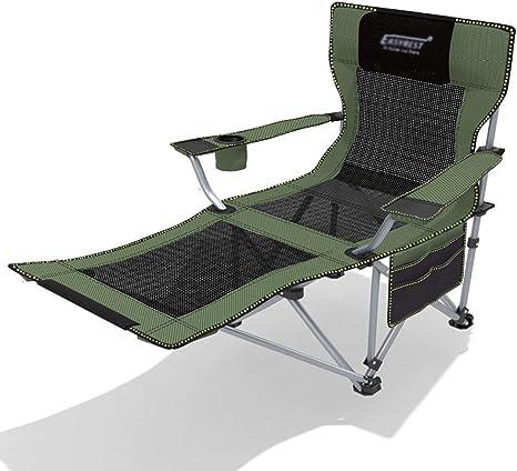 Carl Artbay Mueble de jardín/Silla reclinable portátil de Respaldo ...