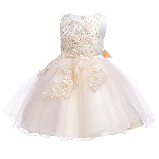 297a71ad195ae ZaH Girl Dress Girls Dresses Kids Frocks Sundress for Party Wedding Pageant  Special Occasion Summer