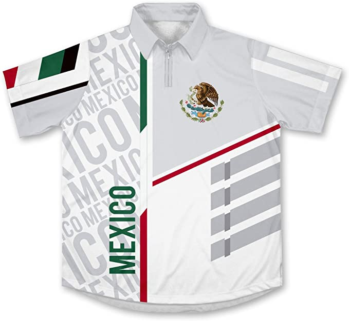 Mexico ScudoPro Technical Polo Shirt Camiseta: Amazon.es: Ropa y ...