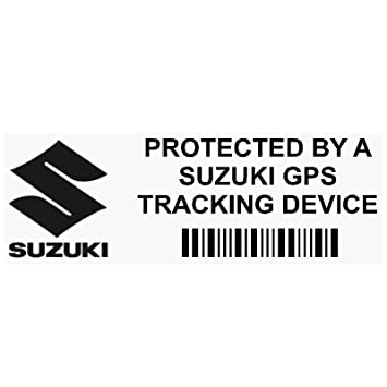 313dd4da11 Platinum Place 5 x PPSUZUKIGPSBLK GPS BLACK Tracking Device Security WINDOW  Stickers 87x30mm-Car