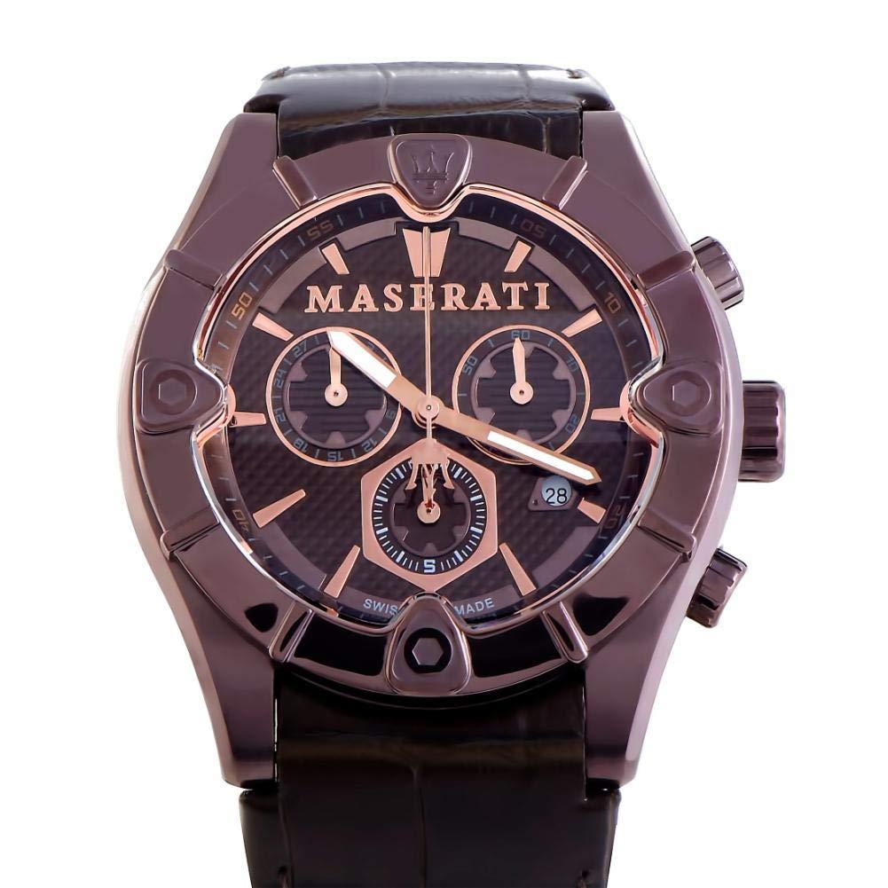 Maserati Meccanica Quartz Male Watch R8871611001 (Certified Pre-Owned)