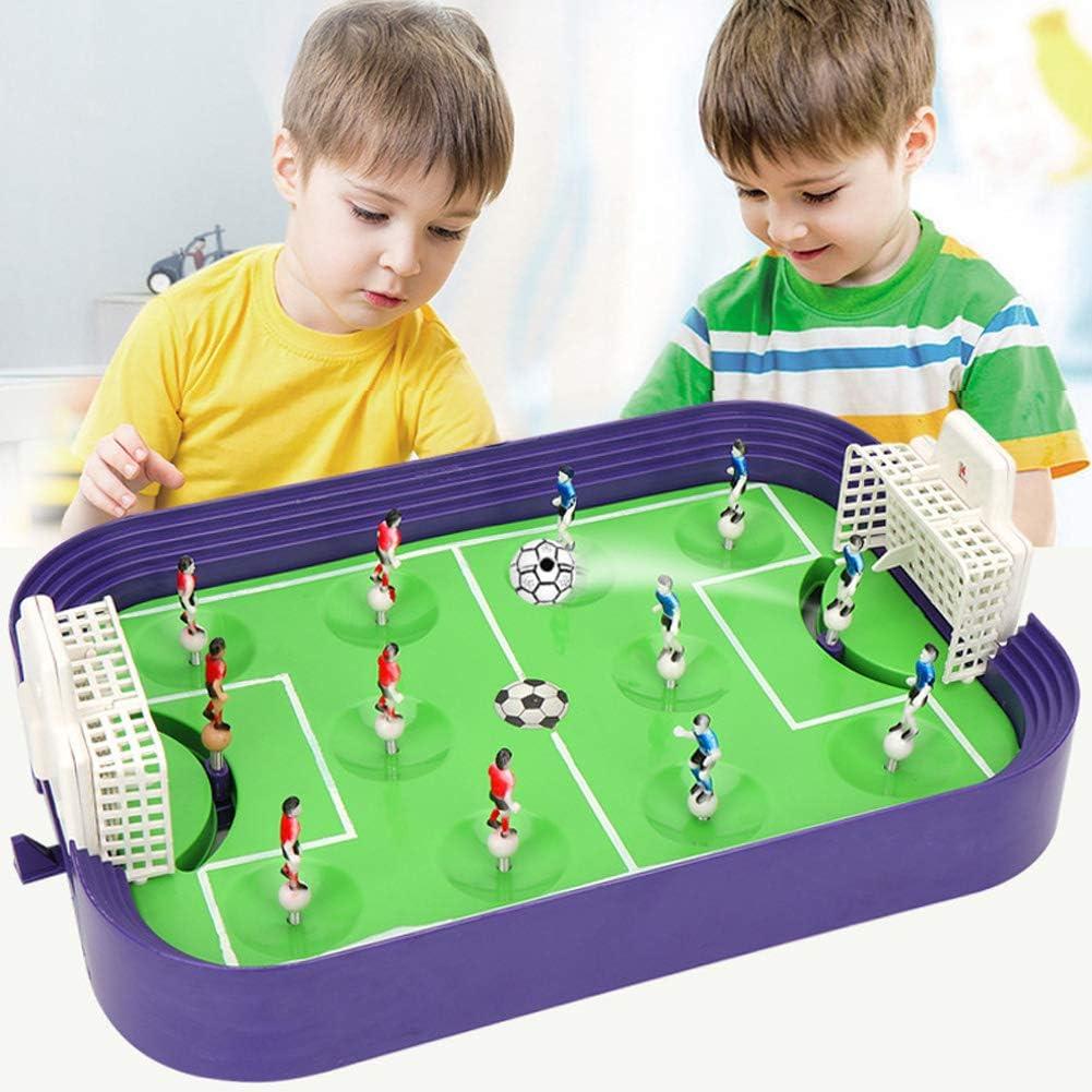 RHSML Bolas de fútbol de Interior, Mini Mesa de Escritorio de fútbol Juego de futbolín de Mesa Arcade Divertido Juego de Puzzle Juguete para Adultos de los niños: Amazon.es: Deportes y aire