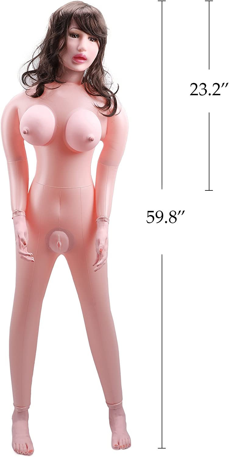 Y-NOT Inflatable Sex Doll Adult Toy Sexy Girl Male Masturbator Tight Vagina Anal Oral Sex Love Doll Flesh