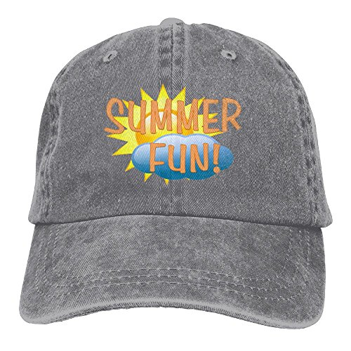 Summer Fun Adjustable Adult Cowboy Cotton Denim Hat Sunscreen Fishing Outdoors Retro Visor - Sunglasses Jung
