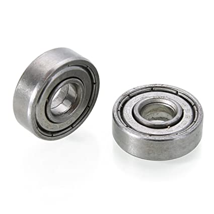Carbon Steel For Skateboard Roller Blade 10PCS 608zz Deep Groove Ball Bearing