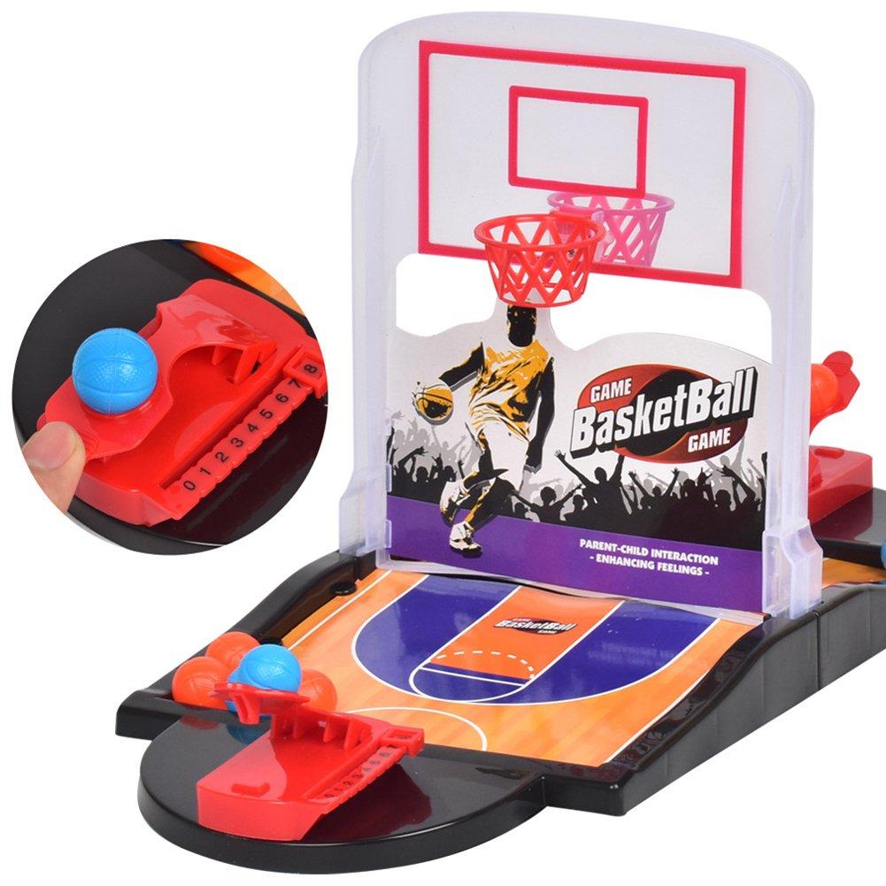 Ocamo Juego de Mesa de Mini Baloncesto de Tiro Doble para Niños ...