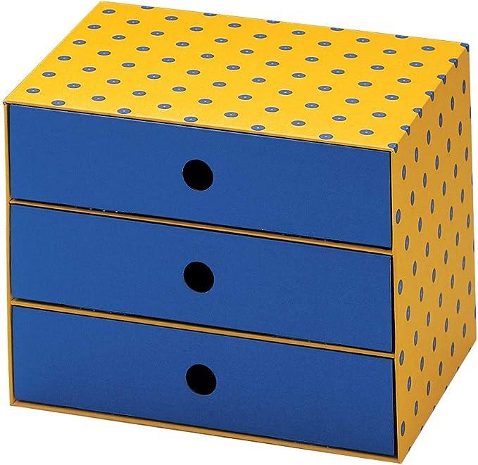 Nips - Cajonera pequeña (32 x 24,5 x 24,5 cm, cartón), multicolor ...
