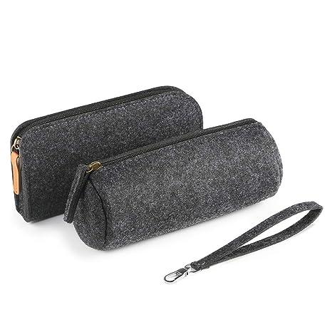 Simpeak para Estuche Lápices (2-Packs), Fieltro de lana ...