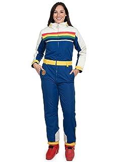 Tipsy Elves Women s Retro Inspired Mile High Ski Suit - 80 s Style Snow Suit  for Female 6e2c1e059
