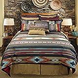 Veratex Santa Fe Collection 100% Polyester Bedroom Comforter Set, Queen Size, Southwestern
