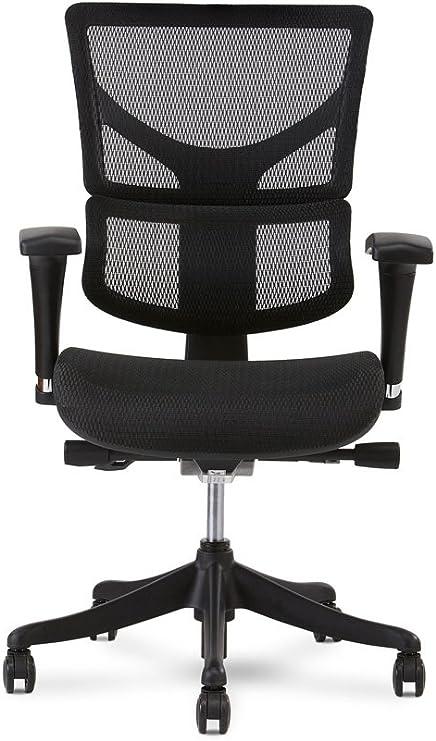 X chair x1 task chair black flex mesh with headrest