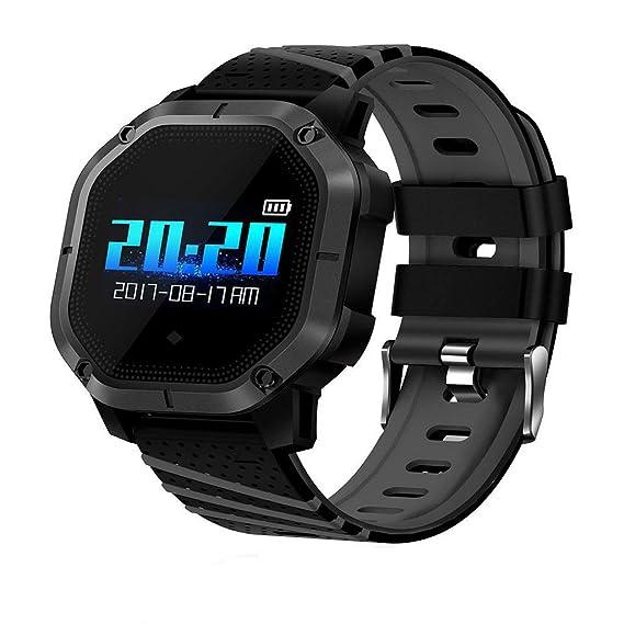 QUICKLYLY Smartwatch con Pulsómetro,Impermeable IP68 Reloj ...