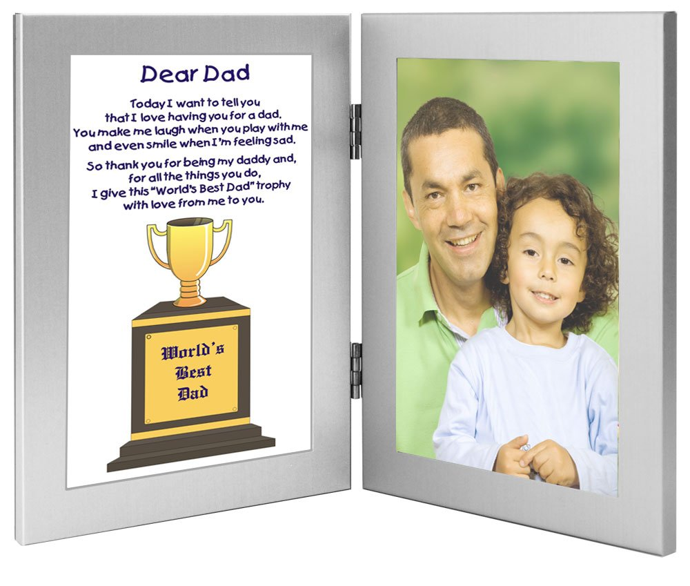 Amazon.com - Dad Gift From Son or Daughter, World\'s Best Dad Trophy ...