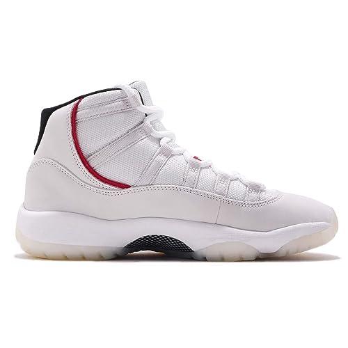 d71b9a57f32 Nike AIR Jordan 11 Retro (GS) 'Platinum Tint' - 378038-016: Amazon ...