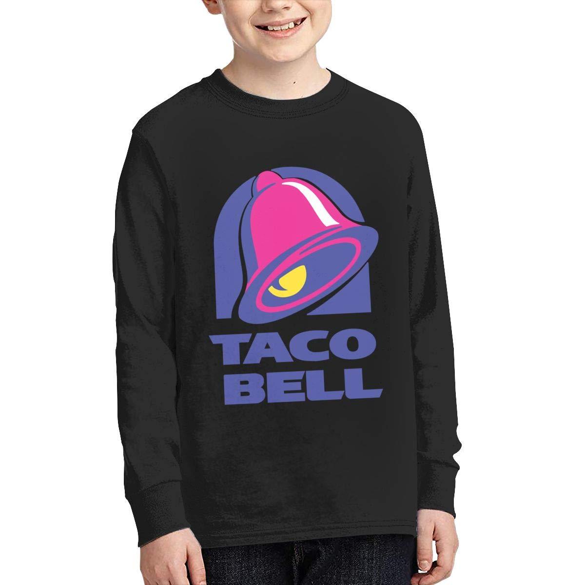 Taco Bell Logo Teen Boy Girl Workout Pullover Sweatshirt Graphic Shirt