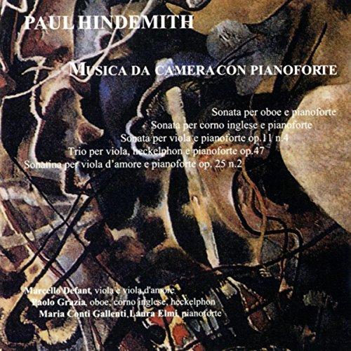 Sonata per oboe e pianoforte: I. Munter / II.Sehr langsam - Lebhaft - Sehr langsam, wie zuerst - Wieder (Pianoforte Sonatas)