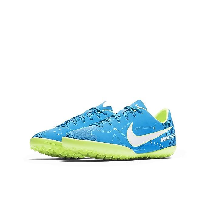 Nike JR Mercurialx VCTRY Vi NJR TF - Zapatillas de fútbol de Neymar Jr, Unisex Infantil, Azul - (: Amazon.es: Zapatos y complementos
