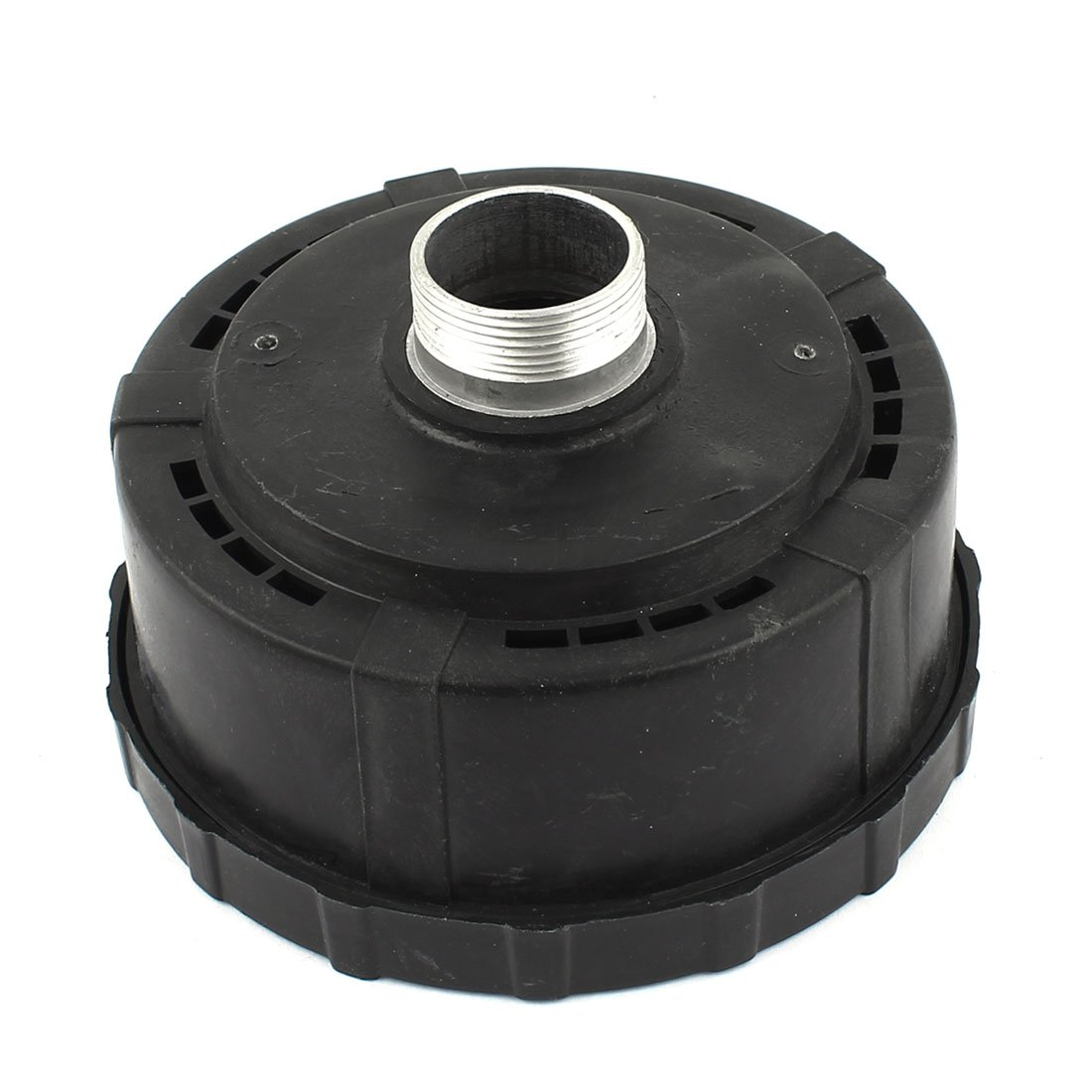 Black Plastic Housing 1BSP Air Compressor Intake Filter Silencer uxcell a14112900ux0119