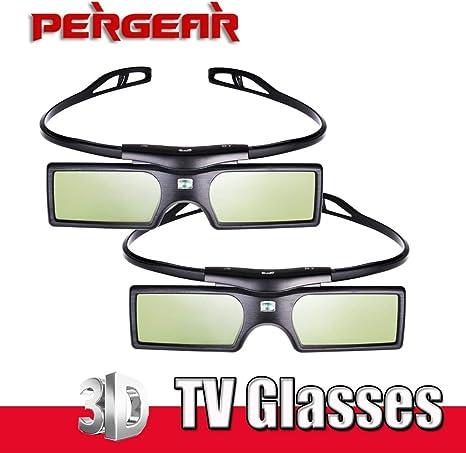 P0016935 - Juego de 2 Gafas 3D para televisor Samsung Panasonic Sony 3D: Amazon.es: Electrónica