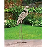 Standing Art LG - Egret , Material; Metal
