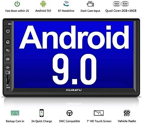 "10.1/""Android 9.0 2din 4 Core autoradio GPS Player con Bluetooth 2G RAM 4Core CAM"