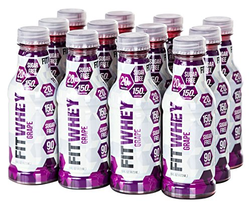 FitWhey Isolate Grape Protein Caffeine product image