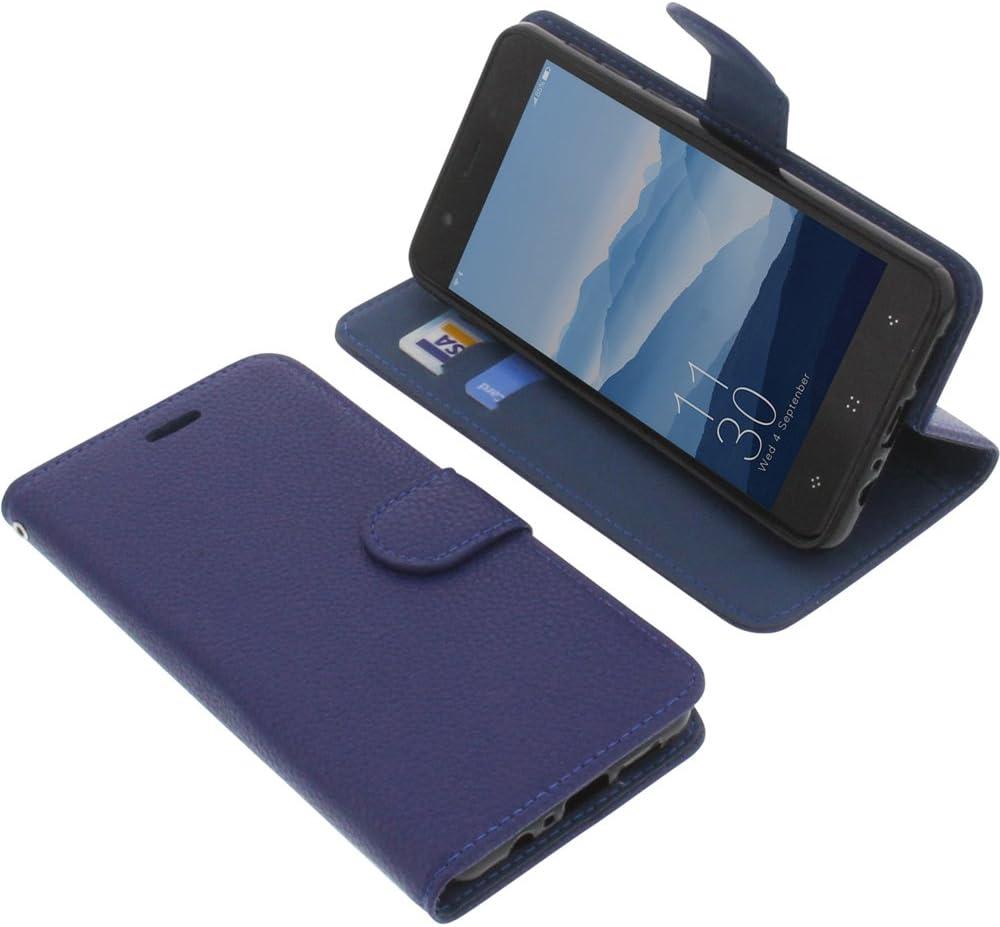 foto-kontor Funda para Elephone P8 Mini Estilo Libro Azul ...