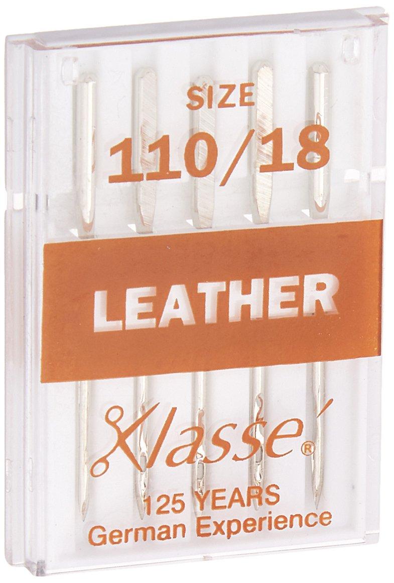 Tacony Corporation Klasse Leather Machine Needles -110/18 5/Pkg Notions - In Network A5104-11018