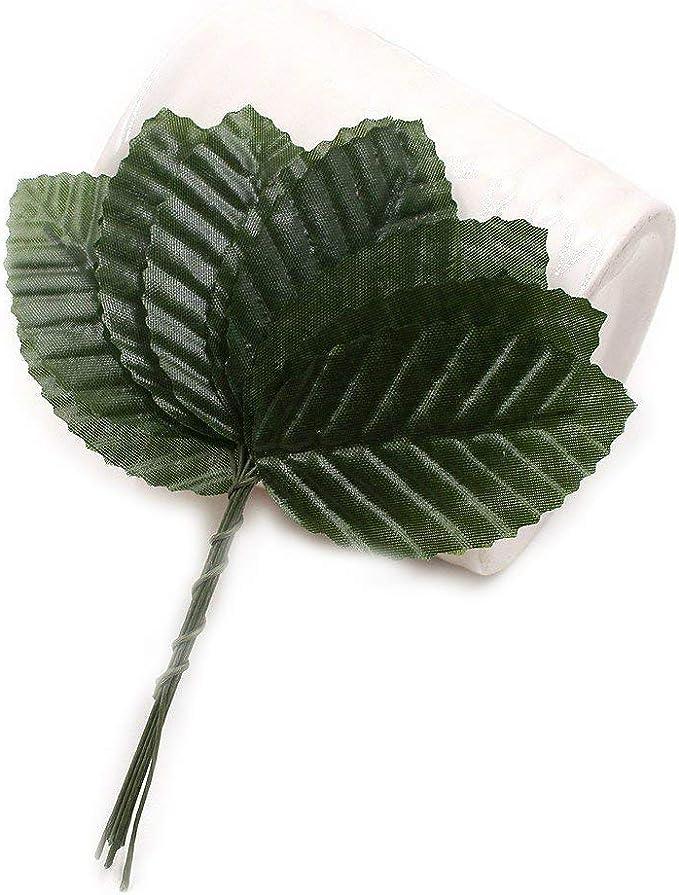 20M Silk Leaf Artificial Green Leaves Decor DIY Wreath Gift Craft Flowers