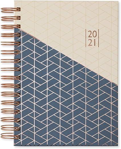 copertina in lamina A5 Grandi Piani Agenda scolastica 2020-2021 con visualizzazione settimanale formato A5