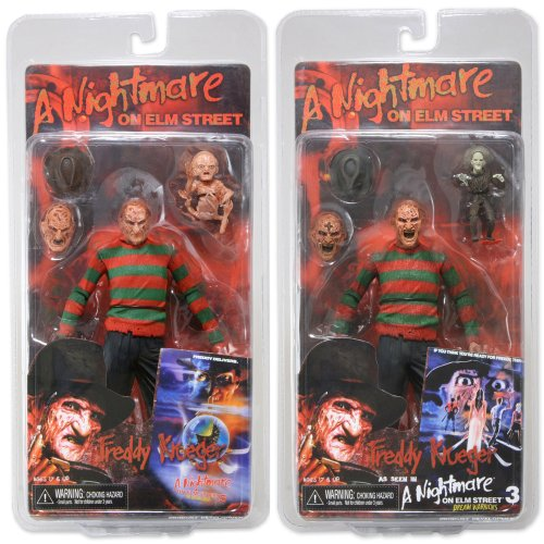 "Neca Nightmare on Elm Street Series 3 - Set Of 2 - 7"" Action Figures"