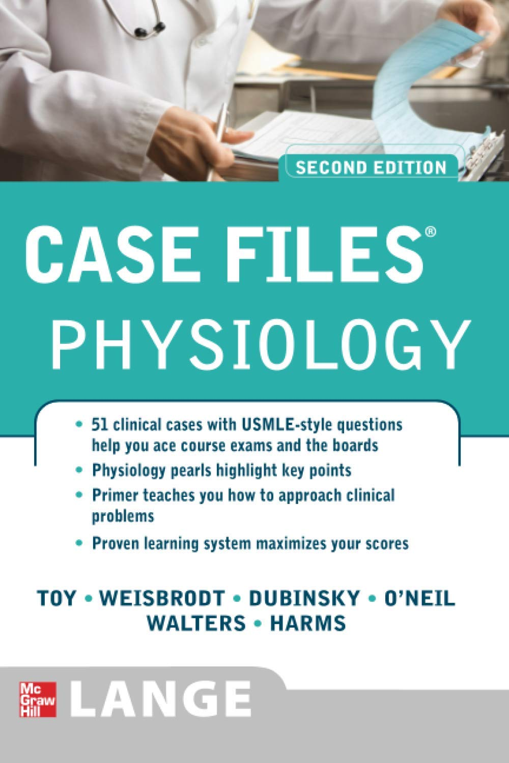 Buy Case Files Physiology, Second Edition LANGE Case Files Book ...
