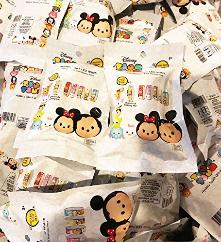 Disney Tsum Tsum Touch LED Watch 24 Blind Bags