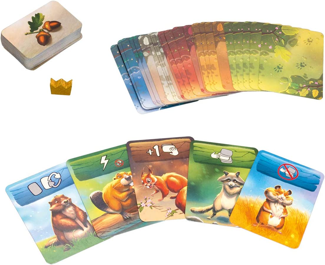 Roedores (Lúdilo) Juego de Mesa Educativo para niños, Juego de Cartas, Muy Divertido para Jugar en Familia y Llevar de Viaje. Lógica y Estrategia: Amazon.es: Juguetes y juegos
